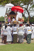 Balinese ceremony — Stock Photo