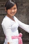 Balinese woman — Stock Photo