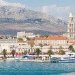 Ships in the port of Split. — Stock Photo
