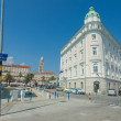Stock Photo: Port authority building in port of Split.