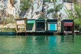 Fishing lodges — Stock Photo