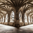 Stock Photo: Cloister arches