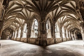 Cloister arches — Stockfoto