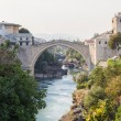 The Old bridge over the Neretva River — Stock Photo