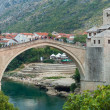 Old bridge in Mostar, Bosnia — Stock Photo