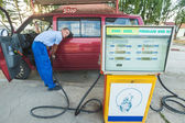 Fuelling service — Stock Photo
