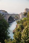 The Old bridge over the Neretva River — Stockfoto