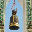 Bell at Wat Pho temple in Bangkok - Foto de Stock  