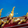 Naga roof in Wat Pho - Stock fotografie