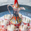 Stock Photo: Old Turkish coffee service