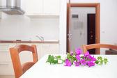 Küche-sitzecke — Stockfoto