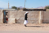 Dahab street scene — Stock Photo