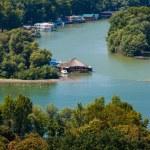Houseboats on Ada Ciganlija — Stock Photo #38238037