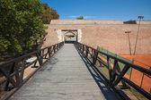 Ingang naar Belgrado Fort — Stockfoto