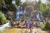 Kravice waterfalls — Stock Photo