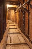 Sarajevo tunnel — Stock Photo
