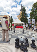 Street chess — Stock Photo