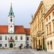 Varazdin's City hall — Stock Photo