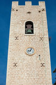 Our Lady of the nativity Cathedral tower in Vence, France. — Stock Photo