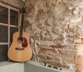 Chitarra acustica — Foto Stock
