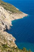 Costa croata — Foto de Stock
