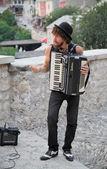 Músico de la calle — Foto de Stock