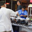 Street food stall — Stock Photo