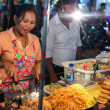 Street food stall. — Stock Photo
