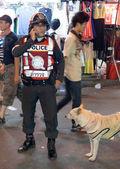 Royal Thai Police — Foto de Stock