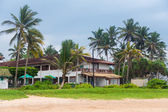 Tourist resort in Hikkaduwa — Stock Photo