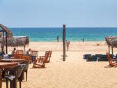 Lounge bar in hikkaduwa beach — Stockfoto