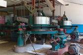 Machine inside the Blue Field Tea Factory — Stock Photo