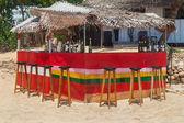 Beach bar at Hikkaduwa Beach — Stock Photo