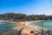 View on Weligama beach — Stock Photo