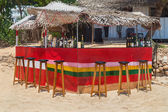 Beach bar at Hikkaduwa Beach — Stock Photo