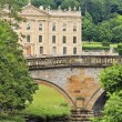 Royalty-Free Stock Photo: A View of Chatsworth House, Great Britain