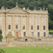 Stockfoto: View of Chatsworth House, Great Britain