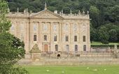 Pohled na chatsworth house, velká británie — Stock fotografie