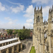 A View of York from York Minster — Stock Photo