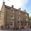 Стоковое фото: Look at Wheatsheaf Hotel, Baslow, England