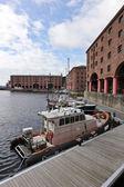 Albert Dock on the Liverpool, England, Waterfront — Stock Photo