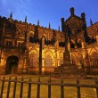 Постер, плакат: A Twilight Chester Cathedral Shot Cheshire England