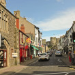 Look Down Castle Street, Conwy, Wales — Stockfoto #12570385