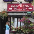 A View of the Postilion Restaurant, Ash Street — Foto de Stock