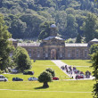 Stock Photo: A View of Chatsworth House, Great Britain