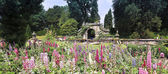 A View of the Chatsworth House Garden, England — Stock Photo