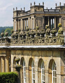 A View of Chatsworth House Details, England — Stock Photo