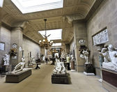 A View of the Chatsworth Sculpture Gallery, England — Stock Photo