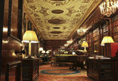 A View of the Chatsworth House Library, England — Stock Photo
