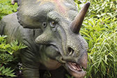 A Prehistoric Styracosaurus in a Cretaceous Forest — Stock Photo